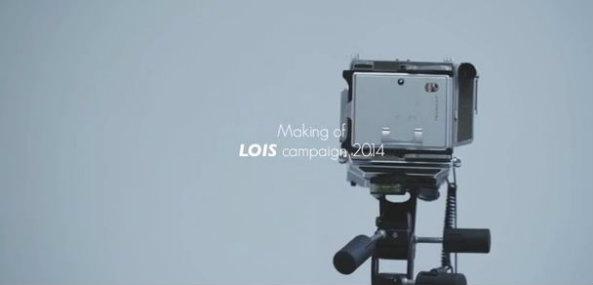 Making Of campaña primavera-verano Lois Jeans 2014